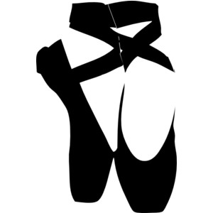300x300 Ballet Slipper Clip Art Many Interesting Cliparts