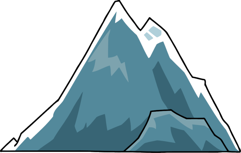 800x506 Mountain Clipart Transparent Background