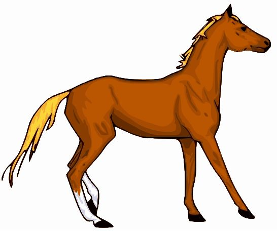 Small Horse Clipart