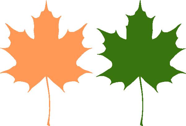 600x406 Maple Leaves Clip Art