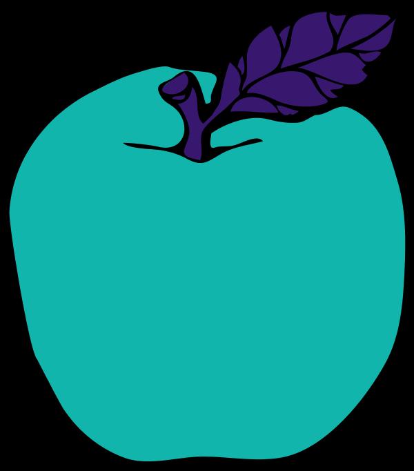 600x682 Apple Leaf Clip Art