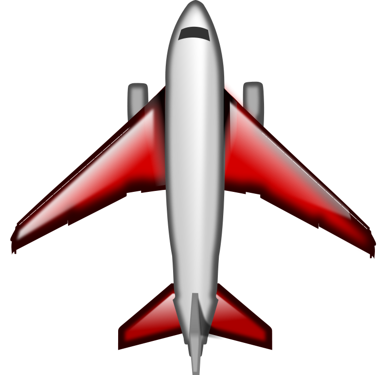 800x770 Airplane Clipart