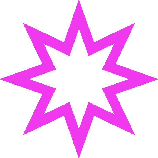 600x600 Purple Star Clip Art