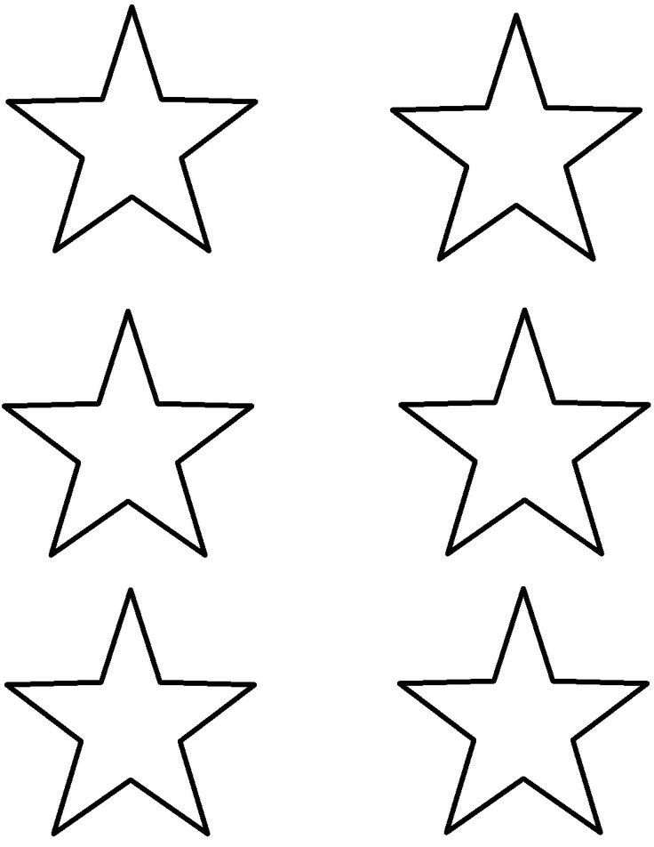 736x952 Star Outline Printable Many Interesting Cliparts