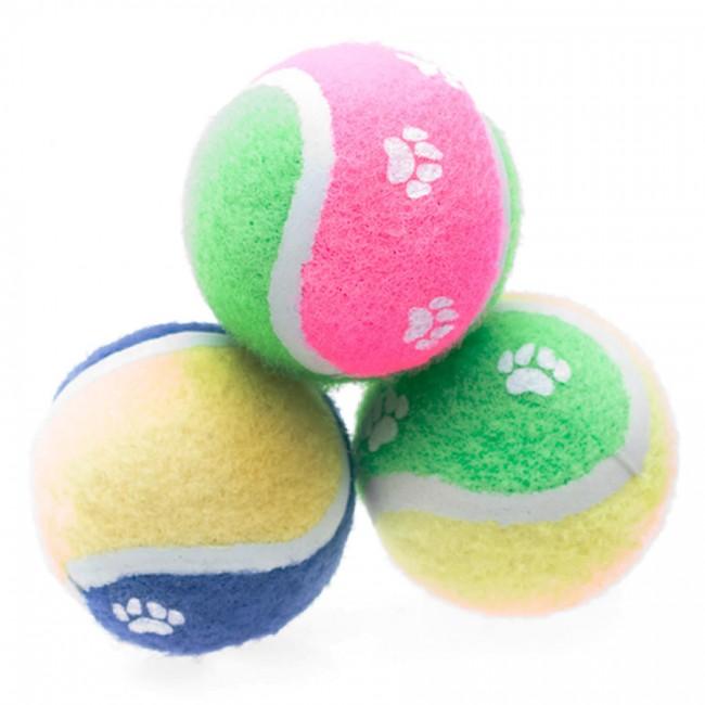 650x650 Dog Toy Nestle Purina Petlife Sponge Tennis Ball Pet Toy Small