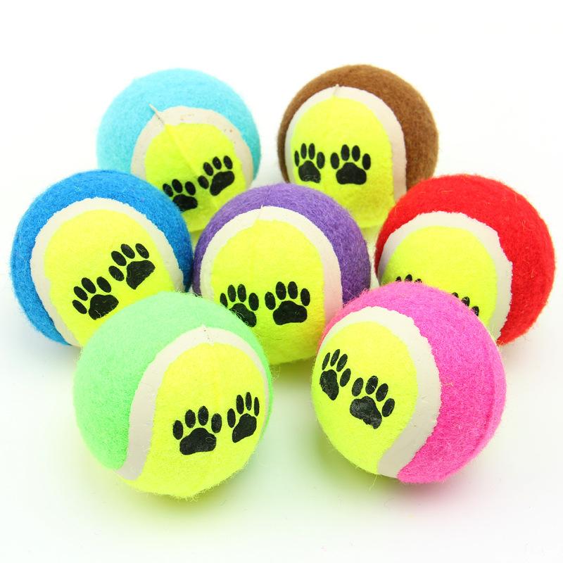 800x800 Online Shop Pet Animal Chew Toy Tennis Balls Small Dog Toys Run