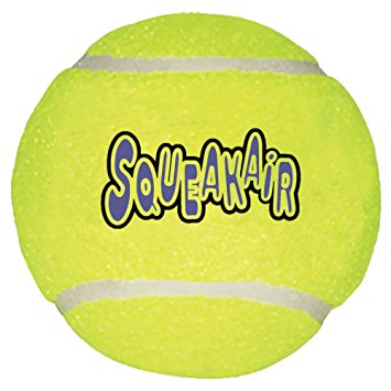 355x355 Pet Supplies Squeaky Tennis Balls Kong Air Dog Squeakair
