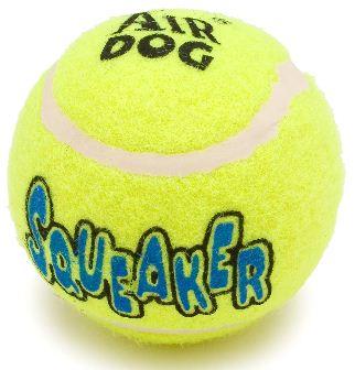 322x336 Air Kong Squeaker Tennis Ball Dog Toy X Small 1.5 Inch 3 Pk