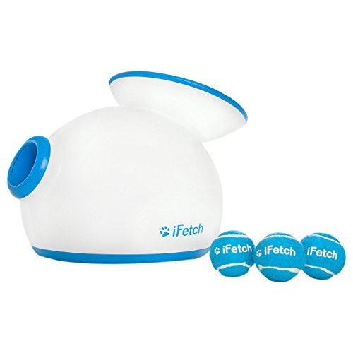 500x500 Best Ifetch Interactive Ball Launcher For Dogs Launches Mini