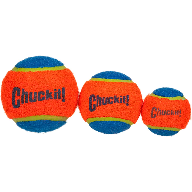 1500x1500 Chuckit! Tennis Balls Small Is 1.5 Diameter (The Same Diameter