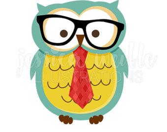 340x270 Cute Hipster Owls Clip Art Nerdy Owls Clip Art Hipster Owl
