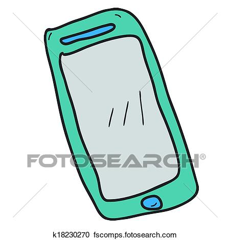 450x470 Clipart Of Phone Mobile Smart Touch Vector Smartphone Screen Hand