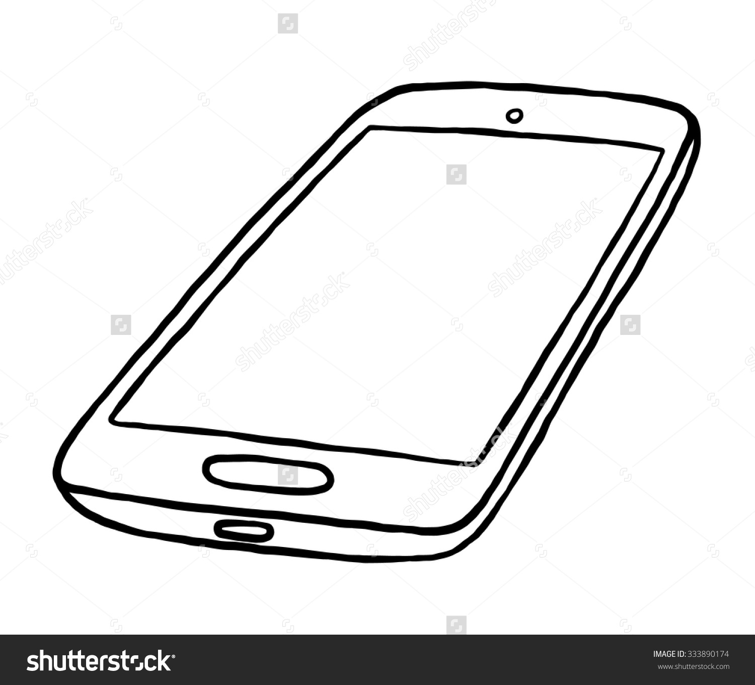 1500x1360 Drawing Clipart Smartphone