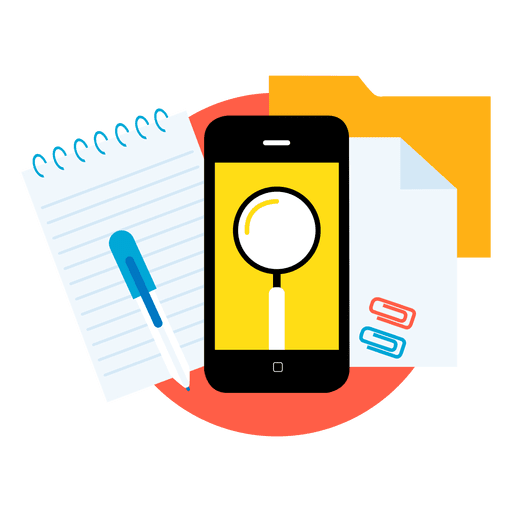 512x512 Search Smartphone Apps