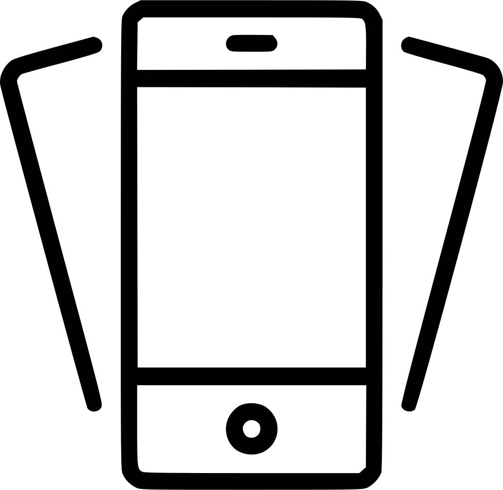 980x954 Tilt Phone Smartphone Mobile Device Iphone Svg Png Icon Free