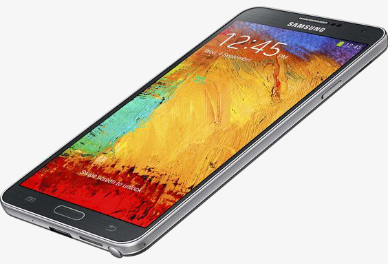 564x383 Samsung Handphone, Note3, Smartphone, Product Kind Png Image