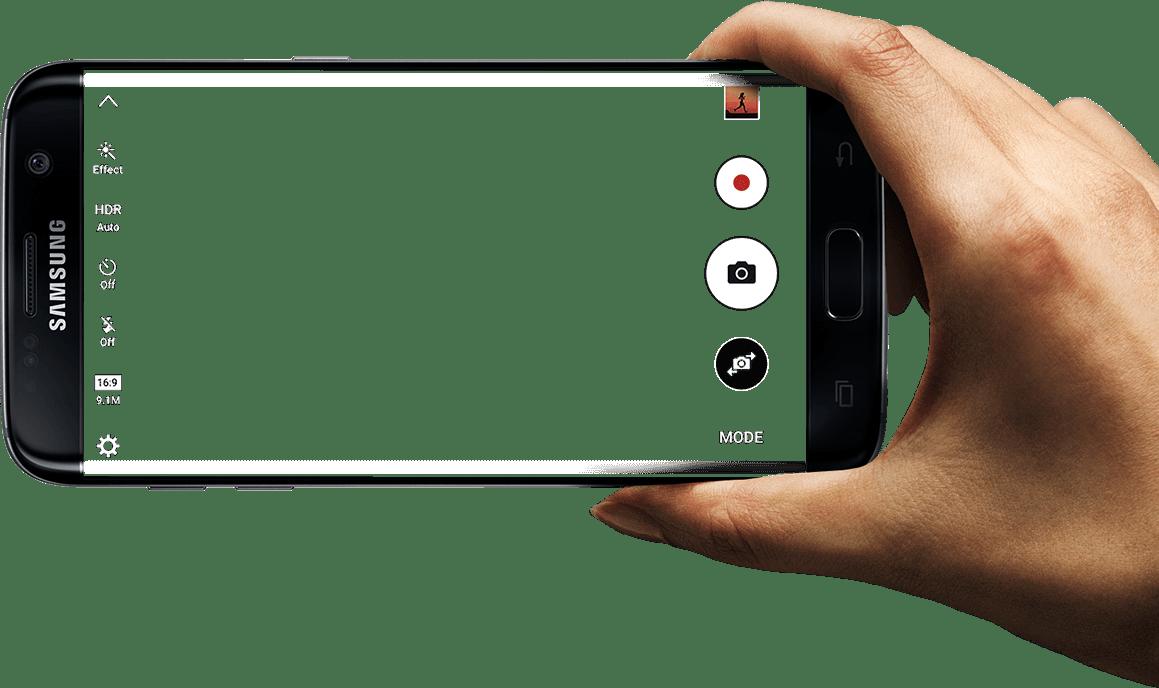 1159x688 Hand Holding Samsung Transparent Png