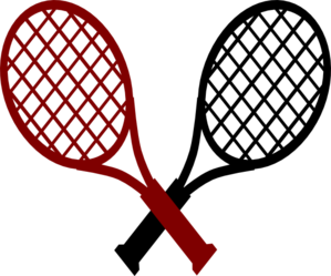 299x249 Maroon Tennis Smash Cancer Clip Art