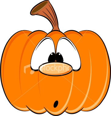 Smashed Pumpkin Clipart