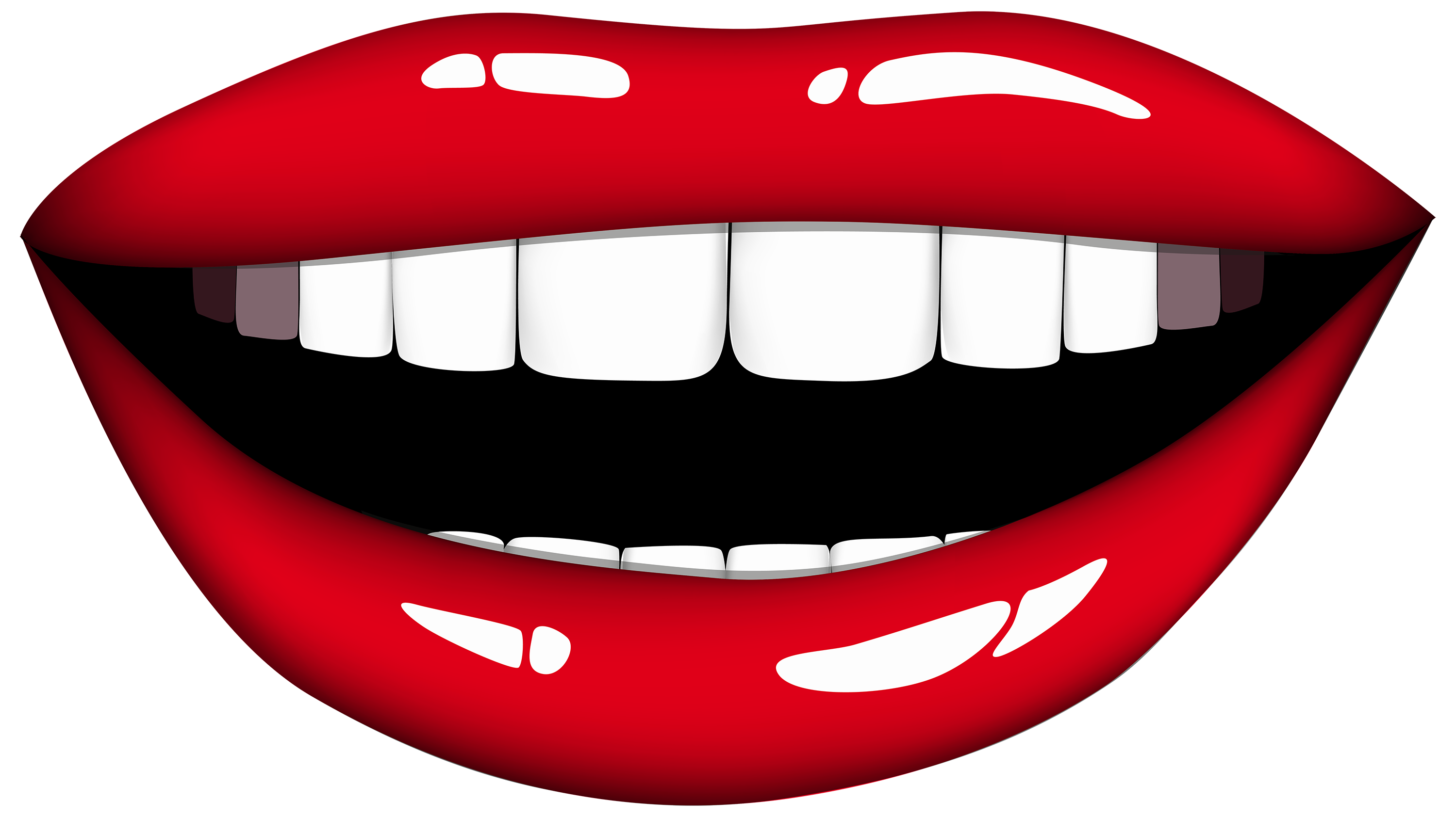3000x1685 Open Mouth Clip Art