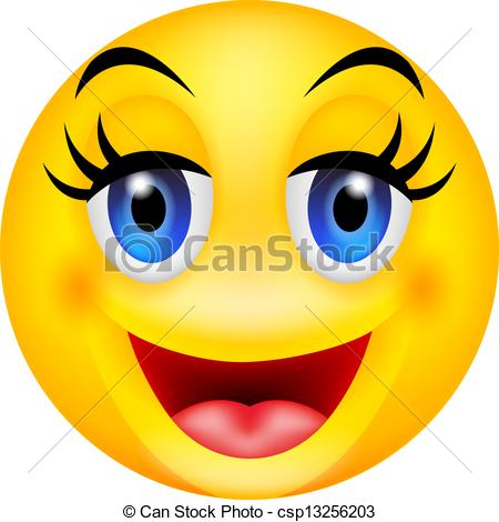 450x470 Clip Art Smiles