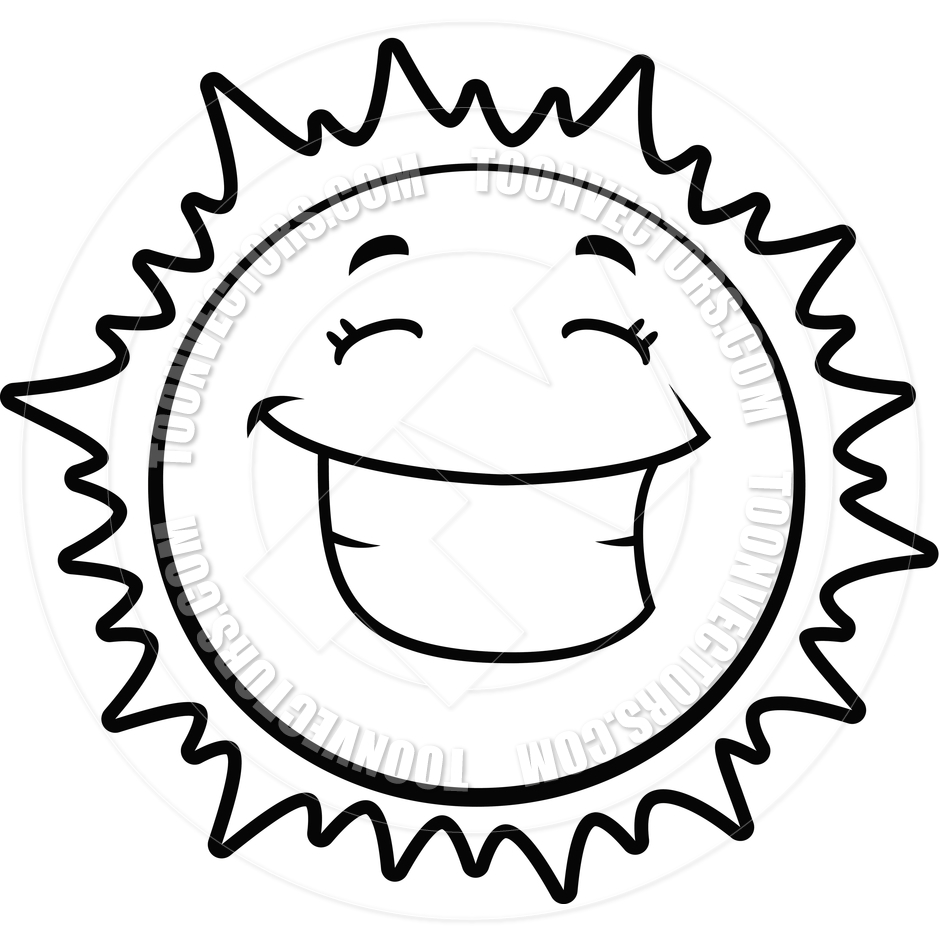 940x940 Smiling Sun Clipart Black And White Clipart Panda