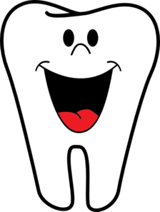 224x297 Smiling Tooth Clip Art