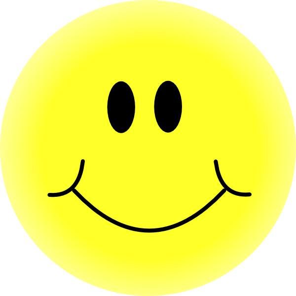 600x600 Big Smiley Face Clipart
