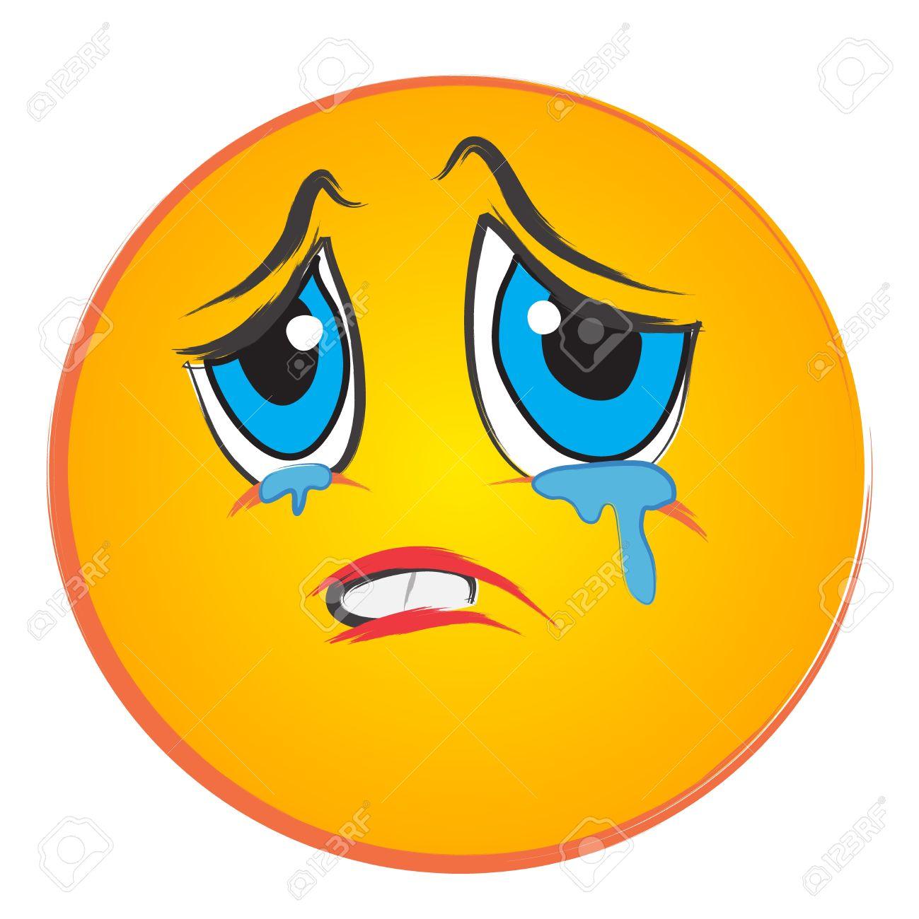 1299x1300 Clipart Face Sad
