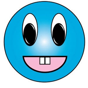 300x300 Moving Smiley Faces Clipart
