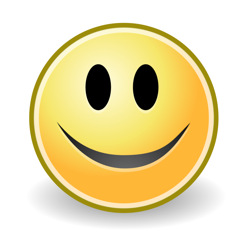 800x800 Free Clipart Tango Face Smile Warszawianka