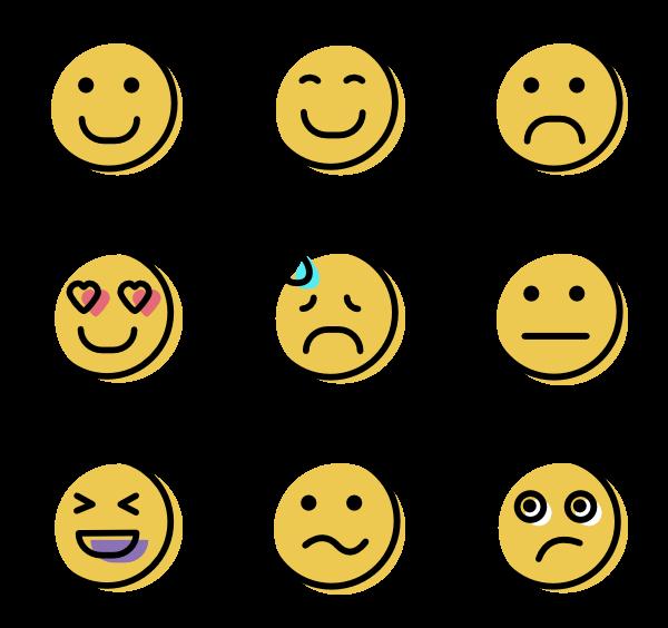 600x564 Smile Icons