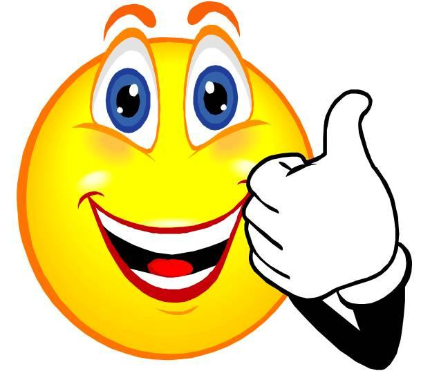 622x537 Smiley Face Thumbs Up Thank You Free Clipart Images