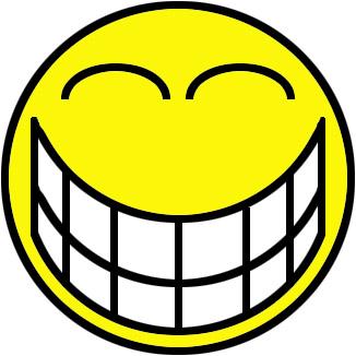 326x326 Big Smile Clipart
