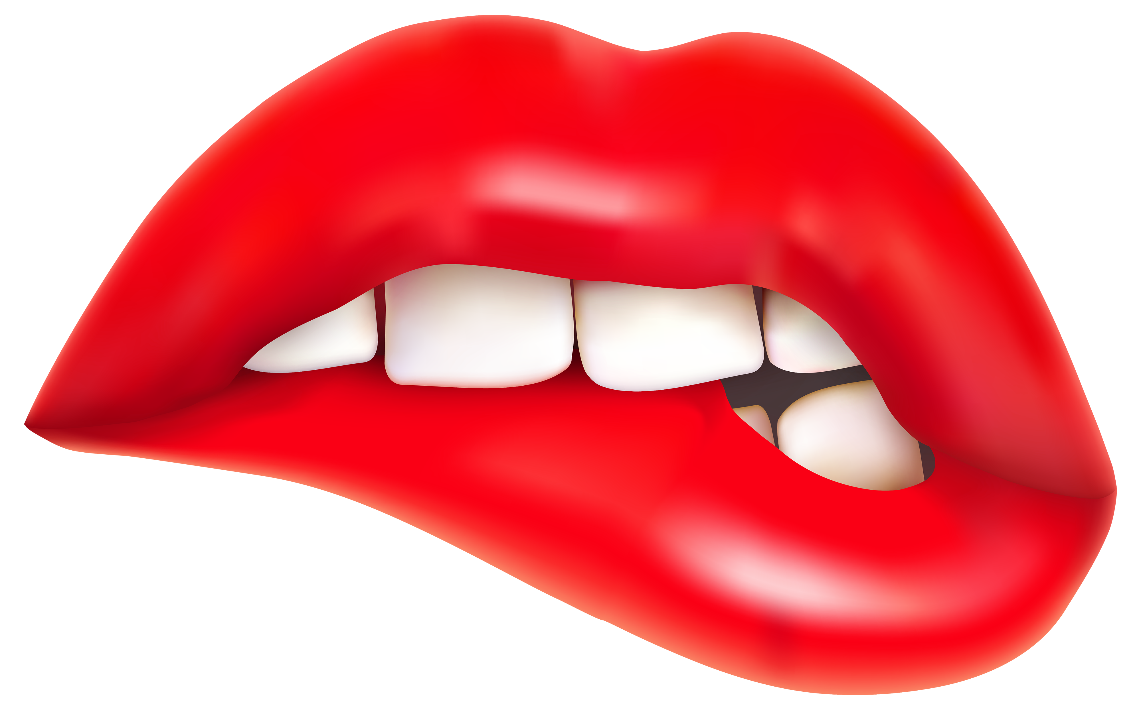 4000x2491 Lips Png Clipart