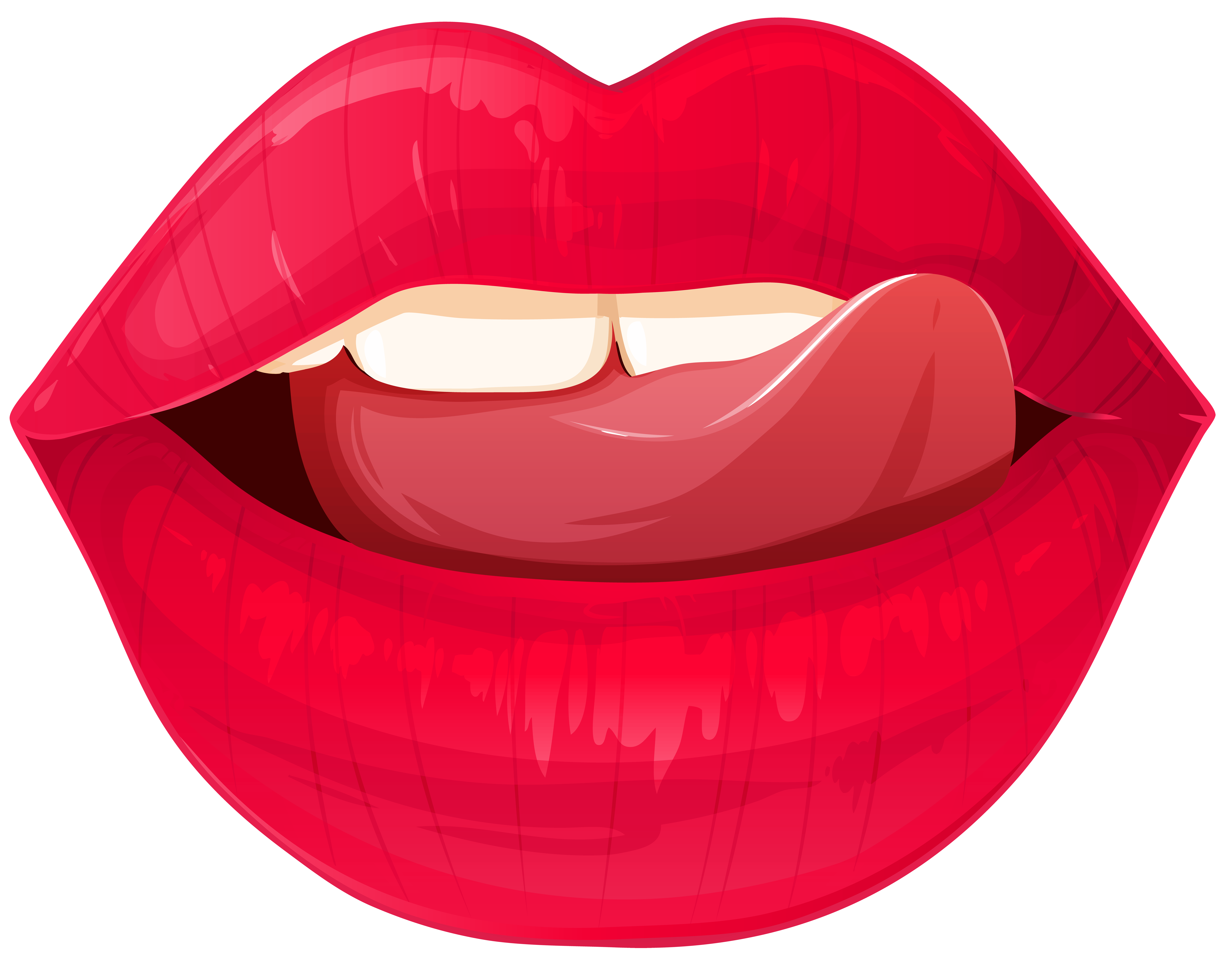 Smile Lips Clipart | Free download on ClipArtMag