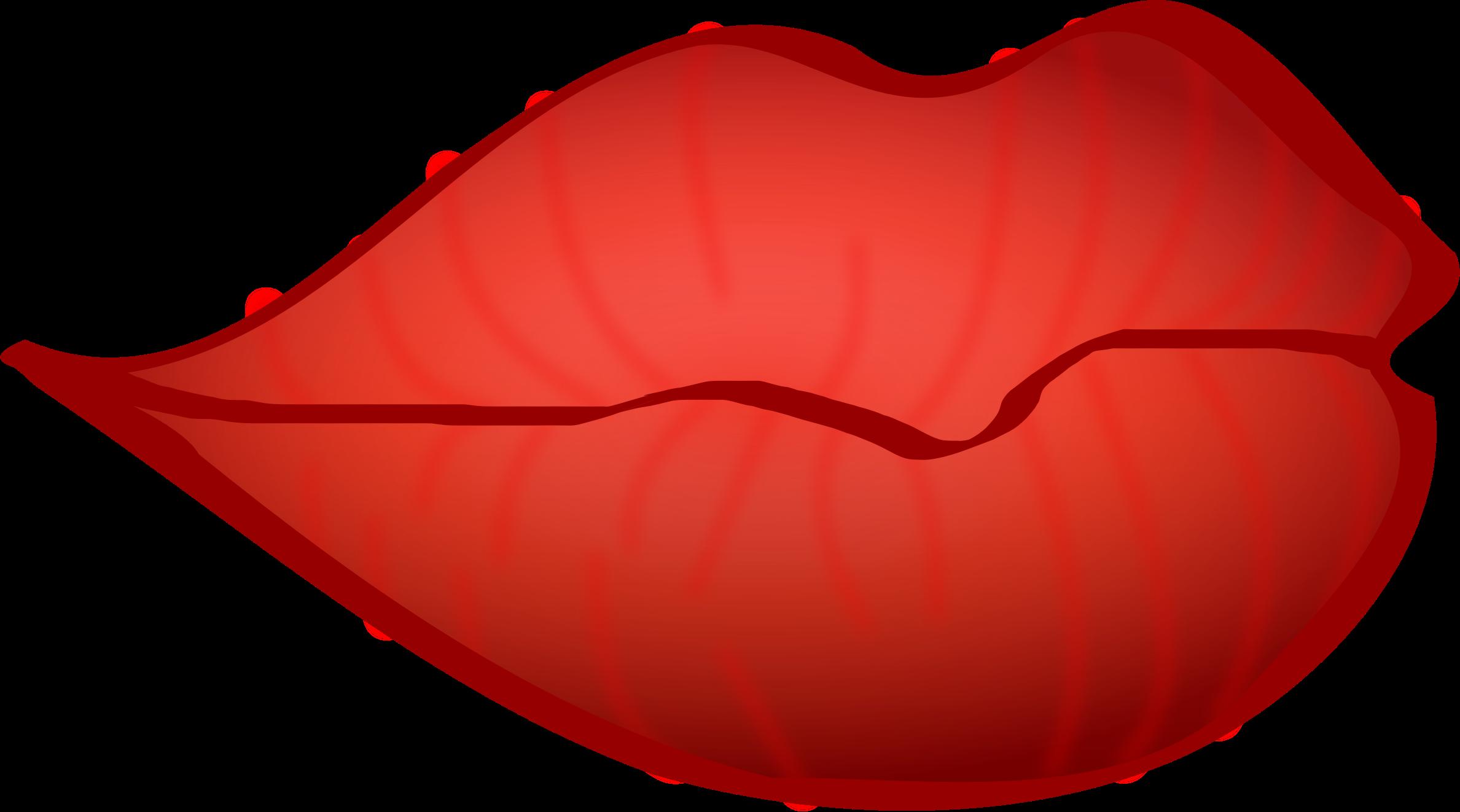 2377x1322 Big Red Lips