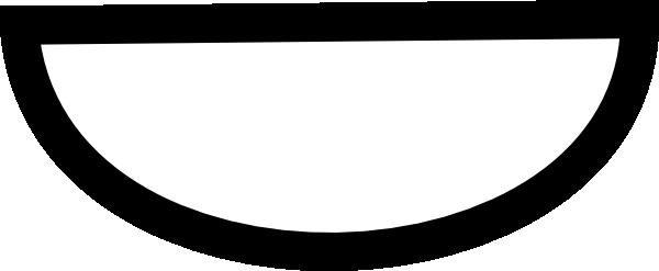 600x247 Simple Smile Clip Art