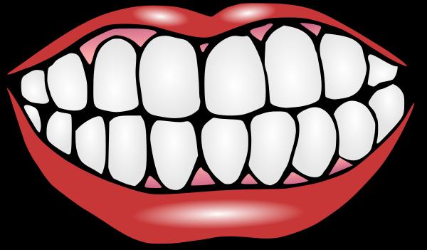 600x351 Smile Clipart Sad Mouth