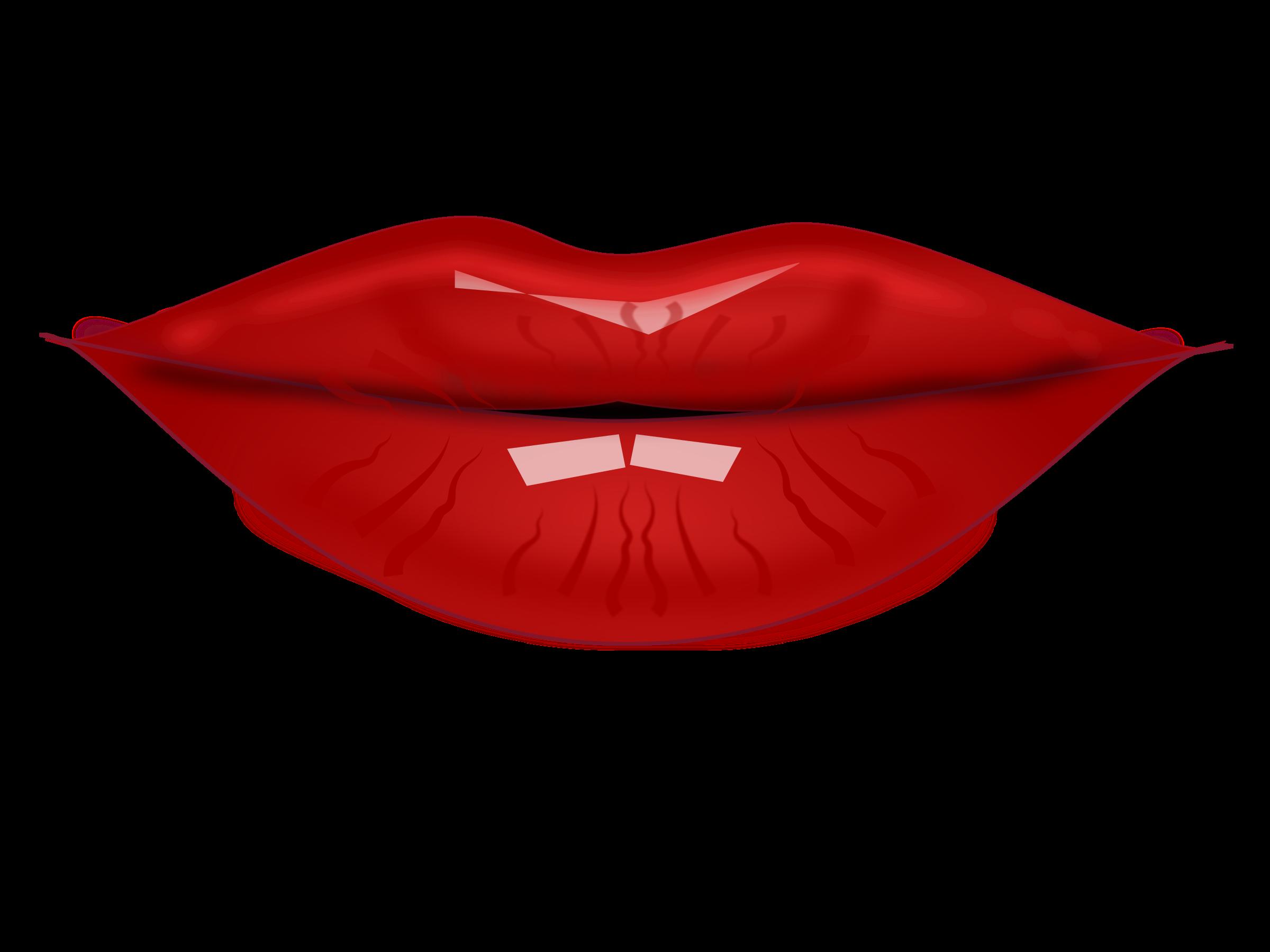 2400x1800 Clipart Lips By Netalloy