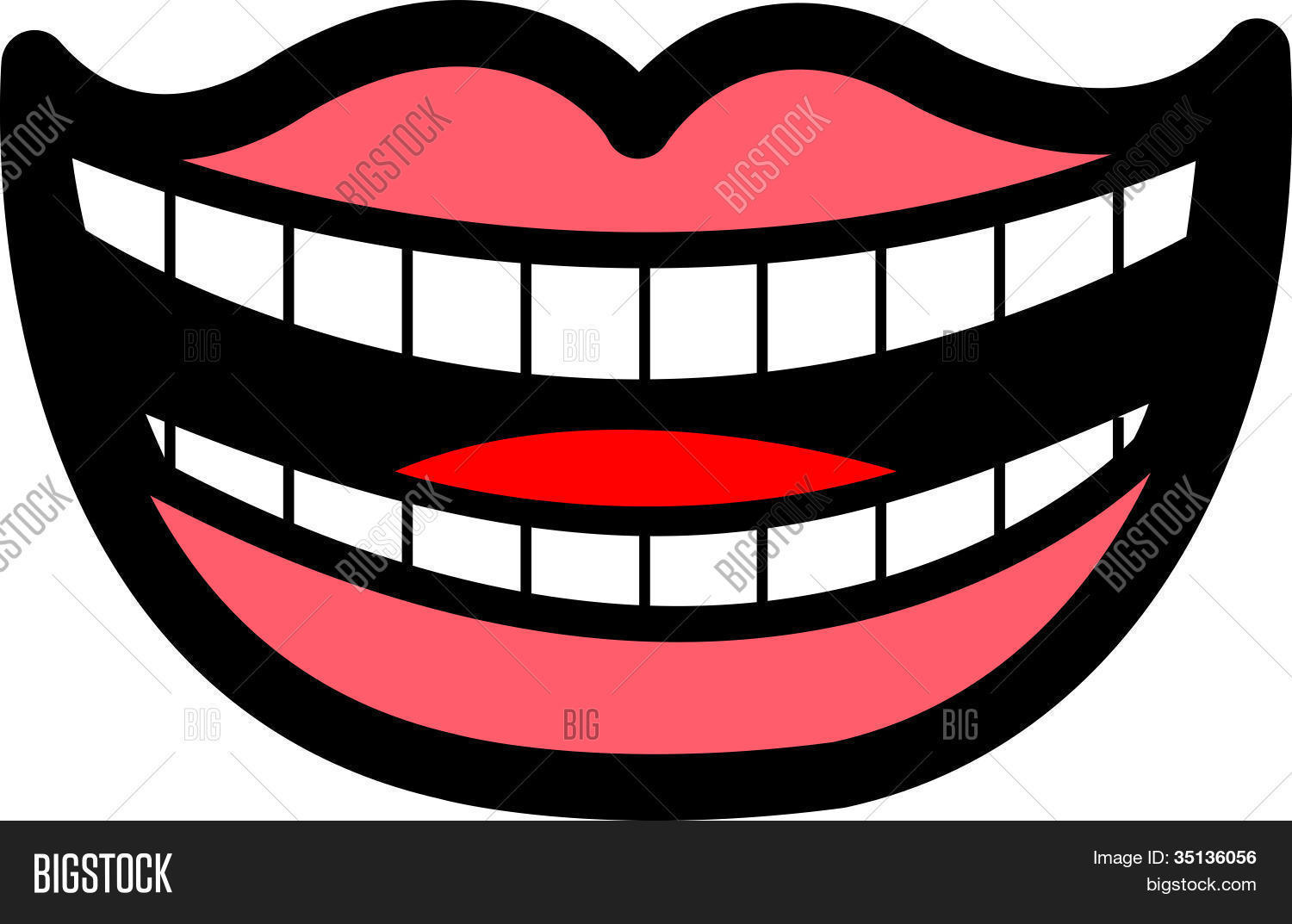 1500x1073 Lips Clipart Big Smile