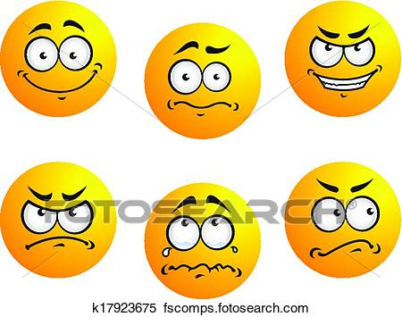 450x355 Clipart Of Different Smiles Expressions K17923675