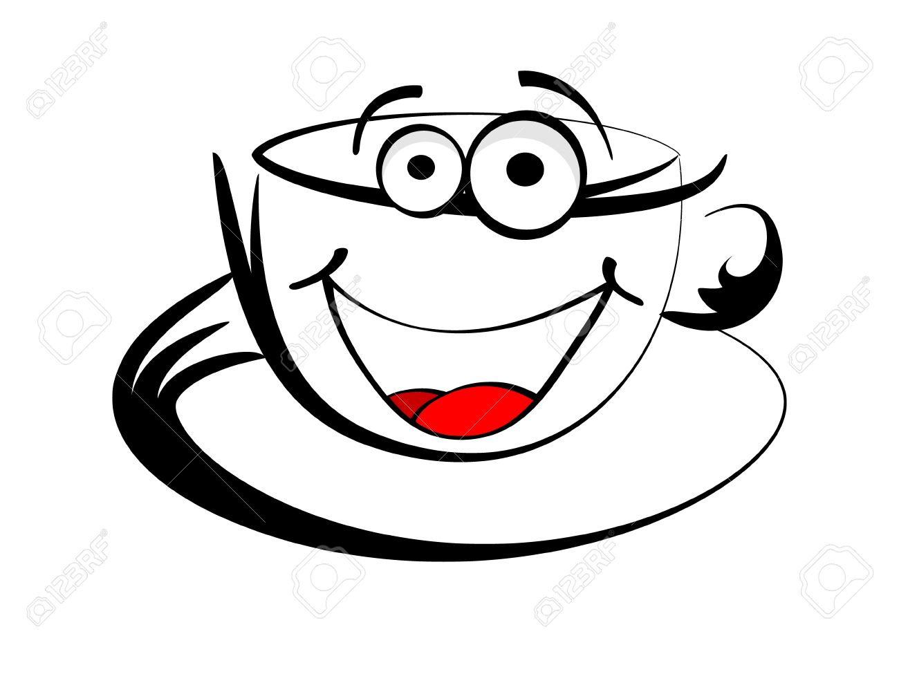 1300x975 Coffee Clipart Smile