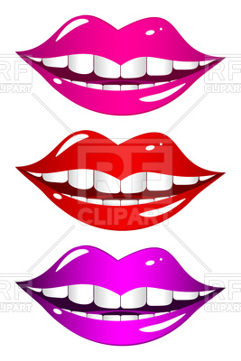 267x400 Set Of Smiles Royalty Free Vector Clip Art Image