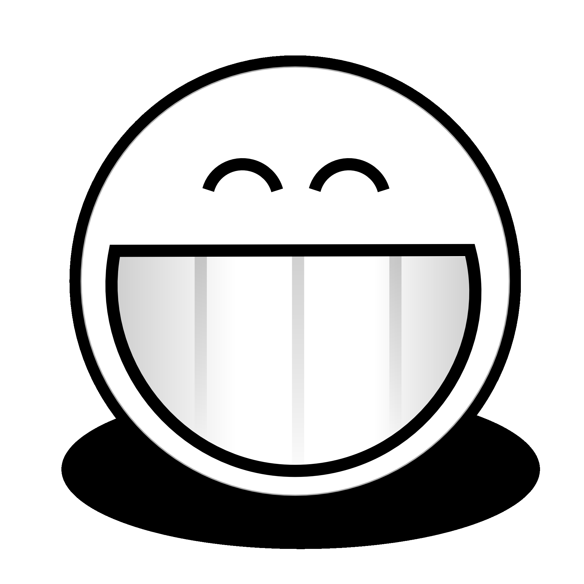 1979x1979 15 Black And White Smiley Face Pictures Ideas Black And White