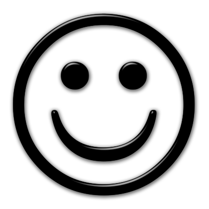 420x420 Smiley Face Black And White Smiley Black And White Free Clipart