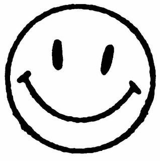 318x320 Smiley Face Black And White Smiley Face Clipart Black And White