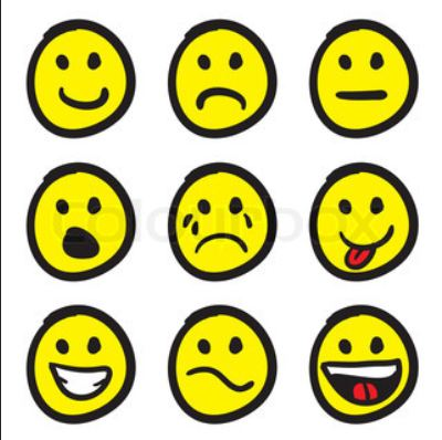 400x398 Smiley Clipart Mood