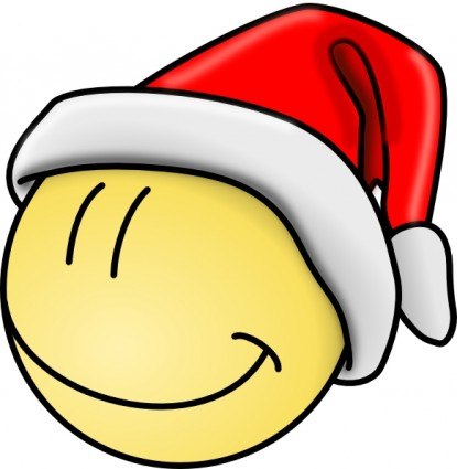 415x425 Smiley Face Smiley Santa Face Clip Art Free Vector In Open Office