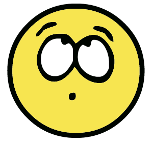 300x279 Thinking Smiley Face Clipart